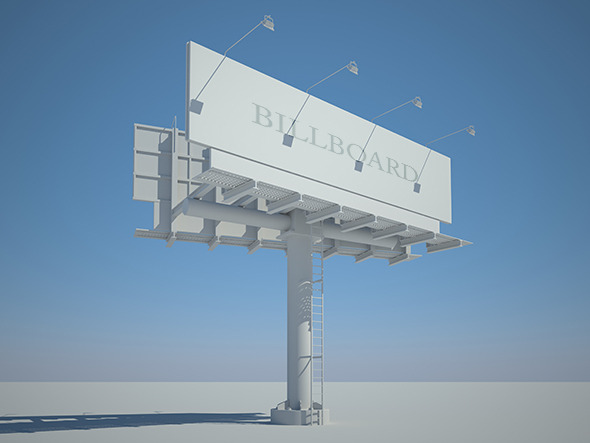 Big Billboard - 3DOcean Item for Sale