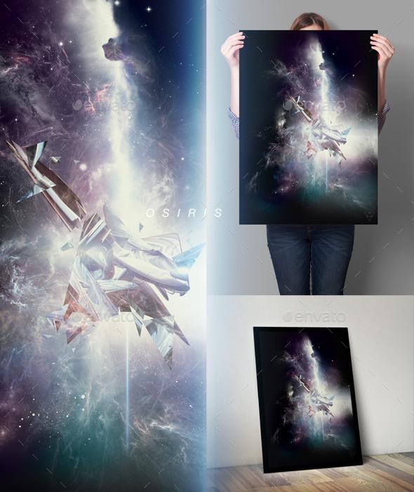 Osiris Space Art Series - Poster - Graphics