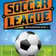 Vector Soccer League Flyer Illustration - GraphicRiver Item for Sale