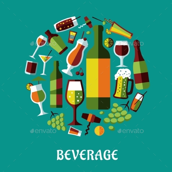 Beverage Elements - Food Objects