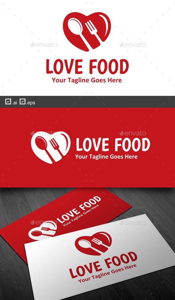 Love Food - Food Logo Templates