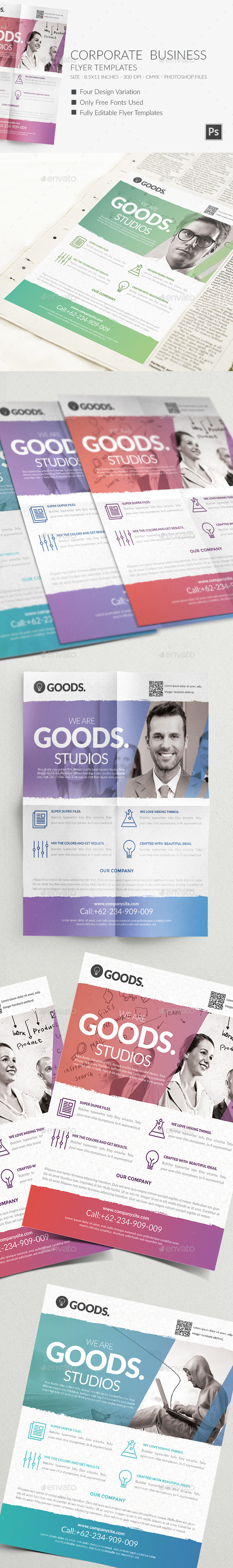 Corporate  Business Flyer Templates 2 - Corporate Flyers