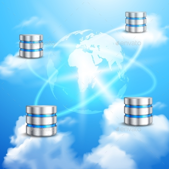 Cloud Computing Background - Computers Technology