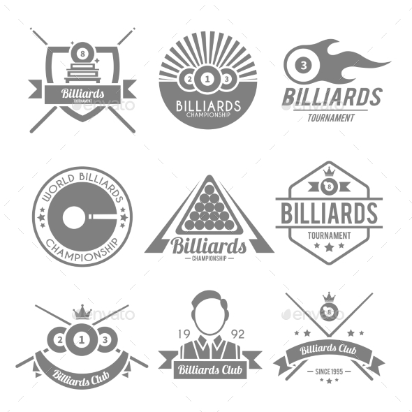 Billiards Black Label - Sports/Activity Conceptual