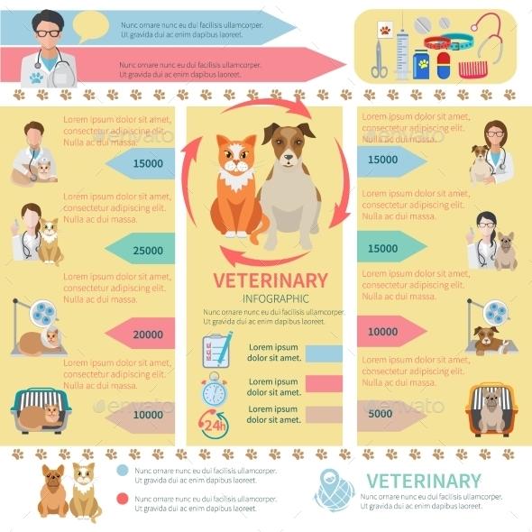Veterinary Infographics - Health/Medicine Conceptual