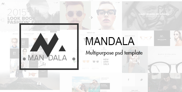 Mandala – Multipurpose PSD Template