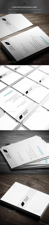 Corporate Business Card - 11 - Corporate Business Cards