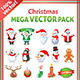 Christmas Mega Stock Vector Graphics Pack - GraphicRiver Item for Sale