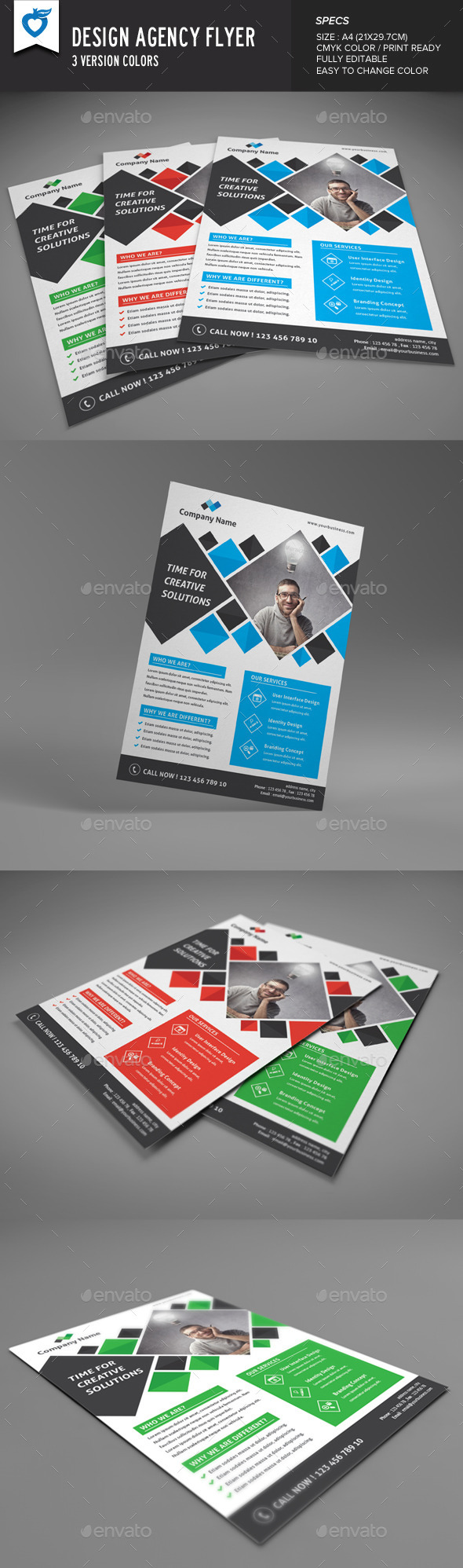 Design Agency Flyer - Corporate Flyers