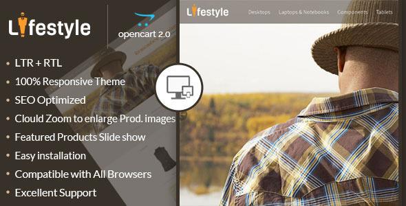 LifeStyle – Opencart Responsive Theme