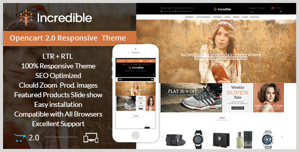Incredible – Opencart Responsive Theme