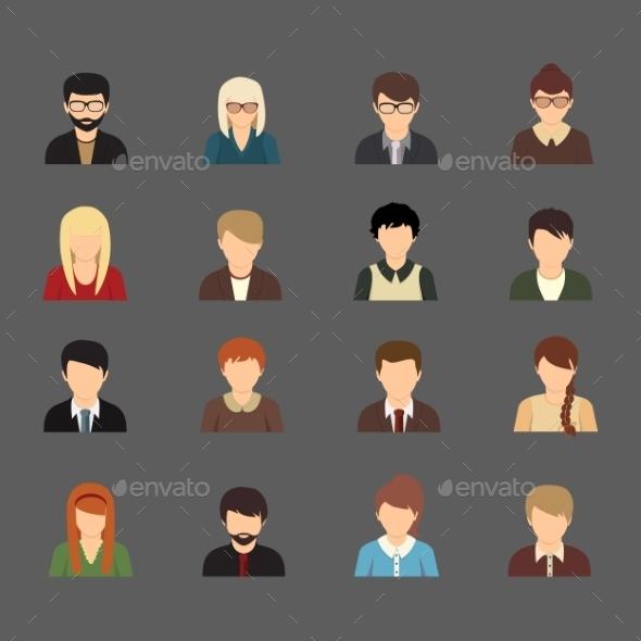 Social Avatars - Web Technology