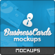 84x55mm Business Cards Mockups - GraphicRiver Item for Sale