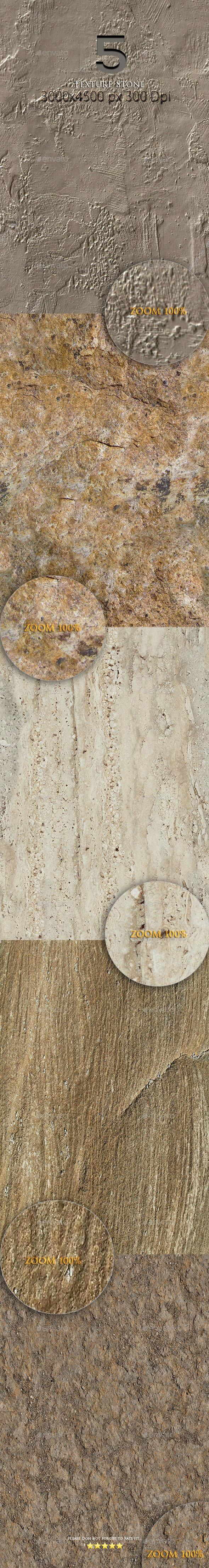 5 Texture Stone - Stone Textures