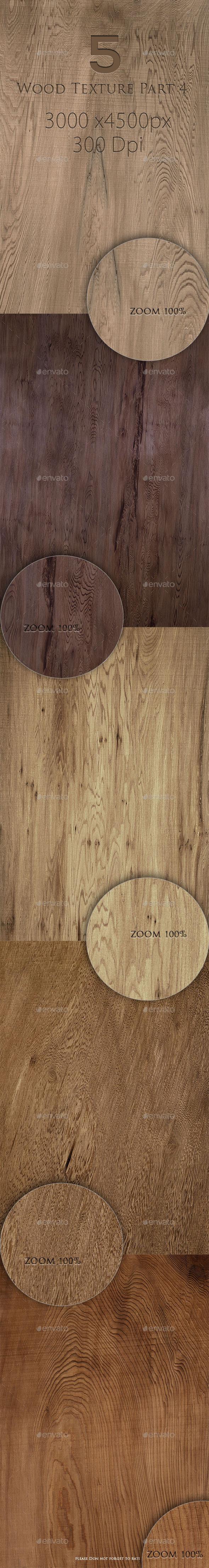 5 Wood Texture Part 4  - Wood Textures