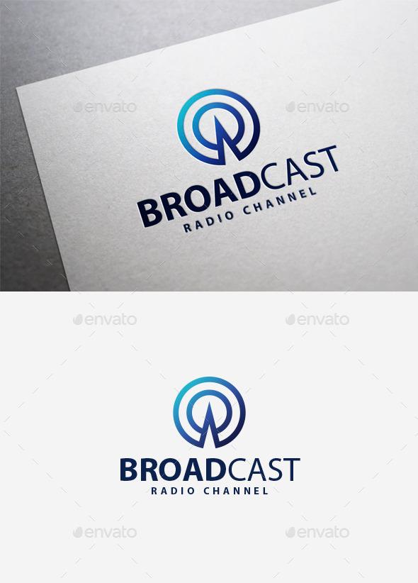 Broadcast Logo - Symbols Logo Templates