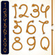 Rope Numbers - GraphicRiver Item for Sale