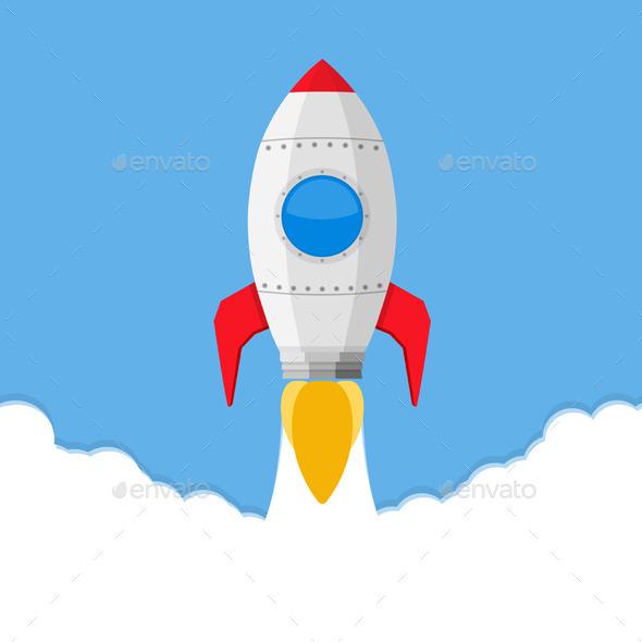 Rocket - Objects Vectors