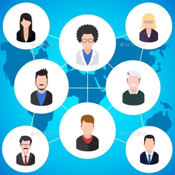 Social Media Community - Technology Conceptual