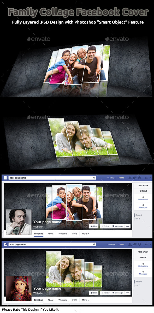 Family Collage Facebook Cover - Facebook Timeline Covers Social Media