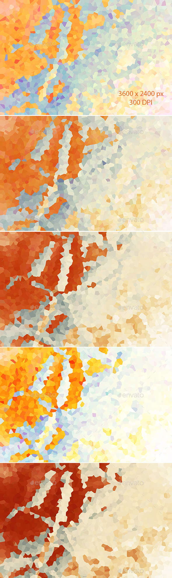 Colorful Abstract Polygon Backgrounds  - Abstract Backgrounds