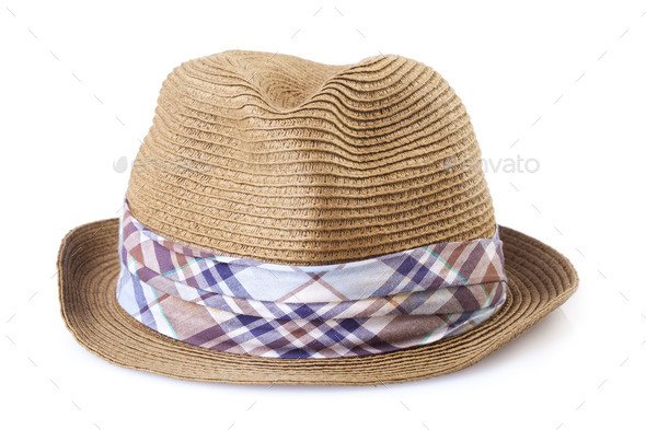 summer straw hat isolated on white background Stock Photo by tiler84 5a3407c3ffcf