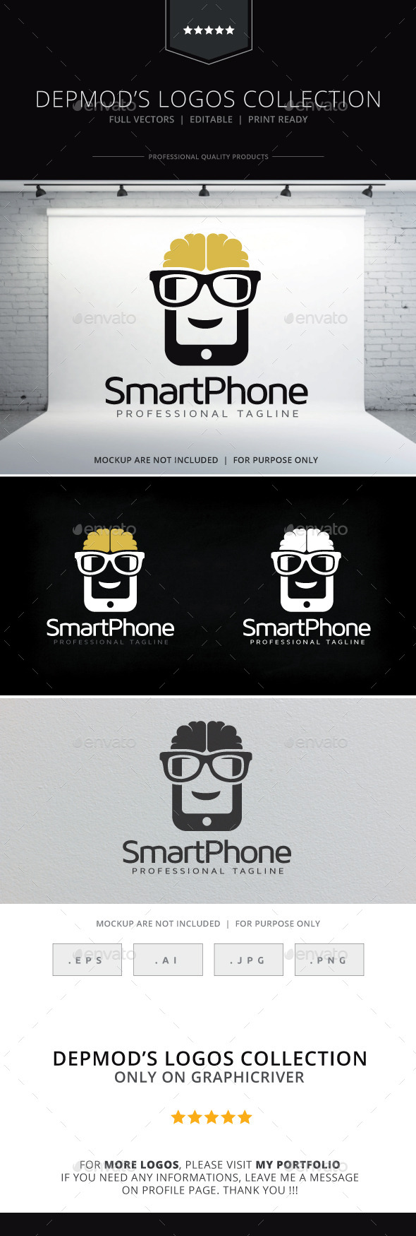Smart Phone Logo - Objects Logo Templates