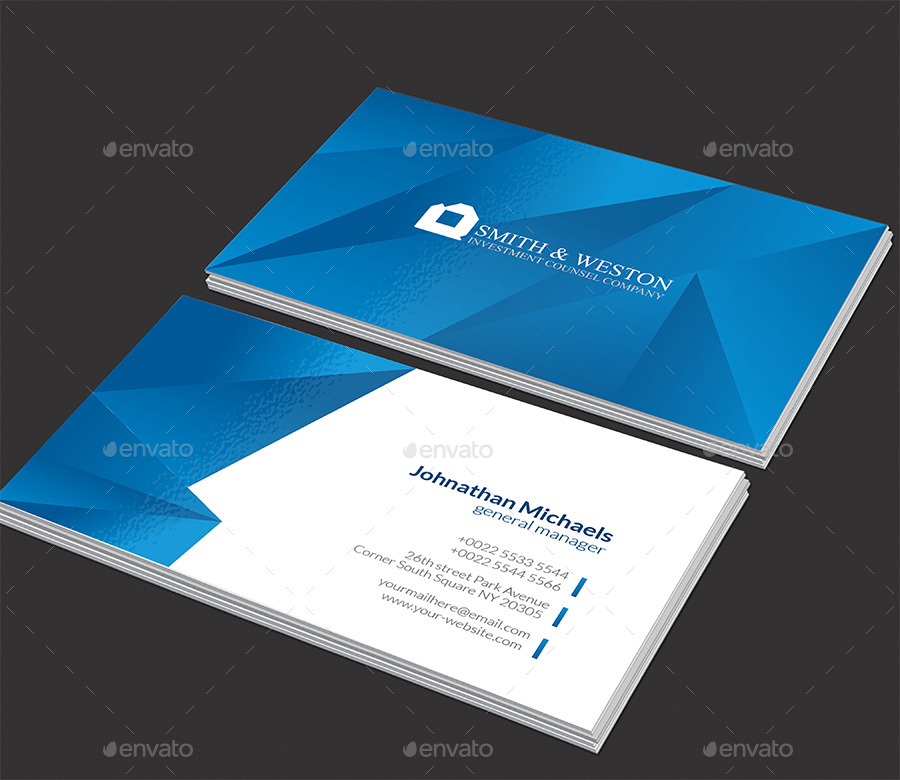 Blue Corporate Stationary Pack By Betty Design: Blue Corporate Stationary Pack By Betty_design