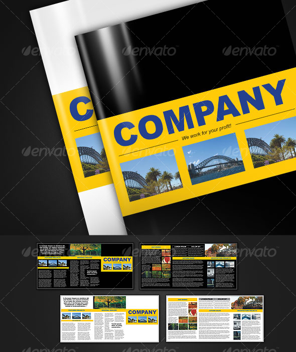 6-page brochure A4 - Corporate Brochures