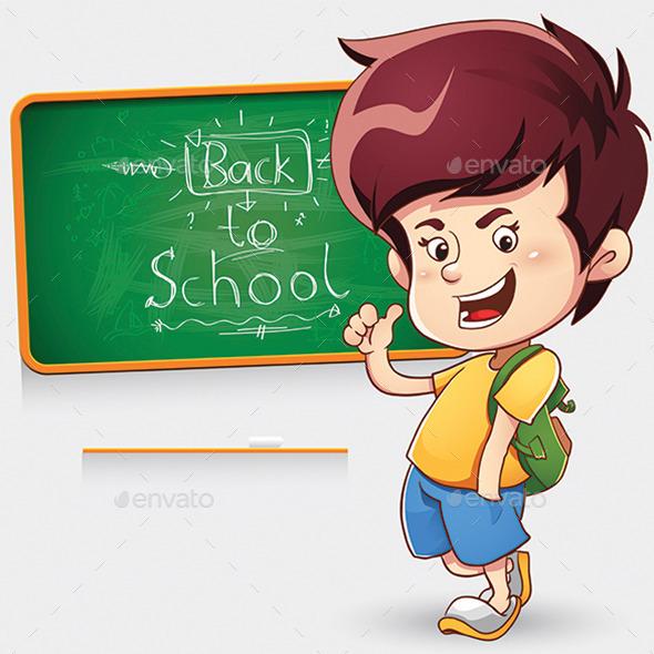 School Boy - People Characters