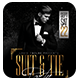 Suit and Tie Elegant Party Flyer Template