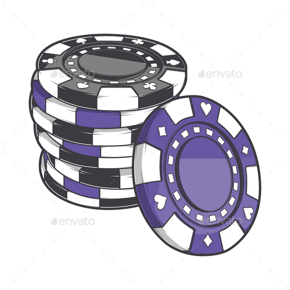 Stack of Gambling Chips - Industries Business