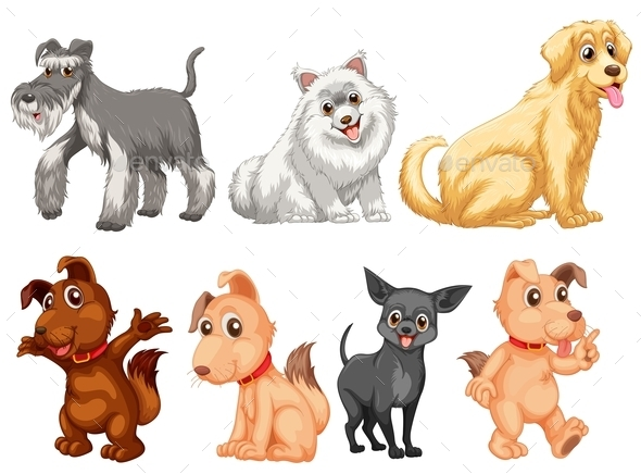 Dog Set - Animals Characters