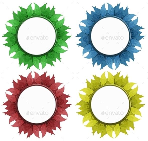 Flower Frame - Miscellaneous Vectors