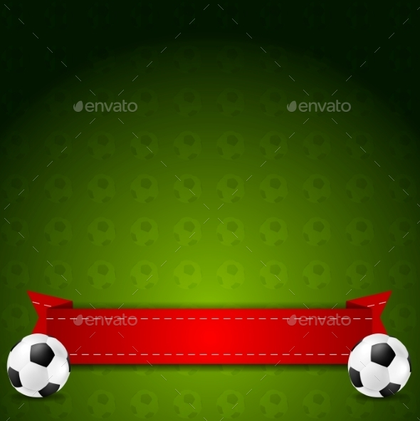 Soccer Football - Backgrounds Decorative