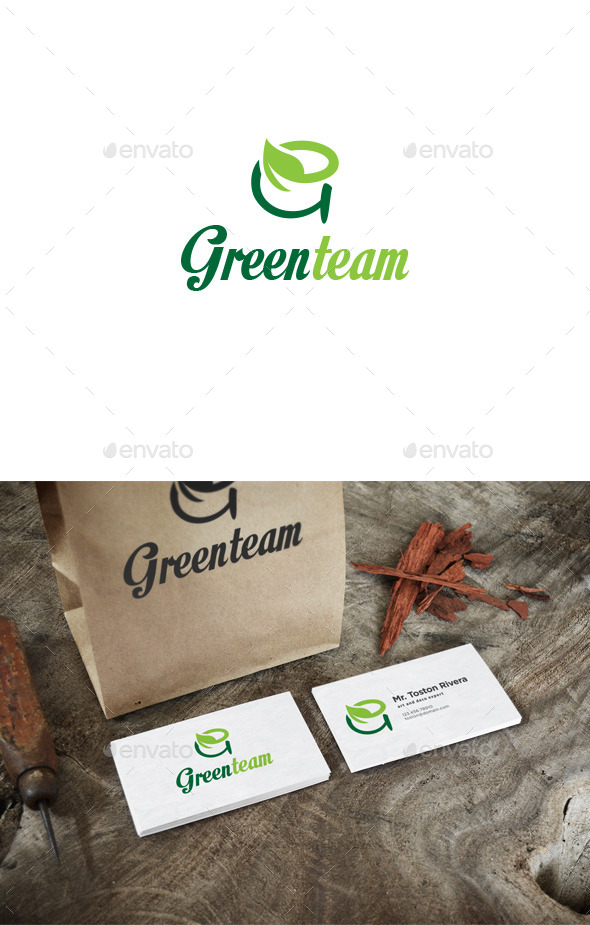 Greenteam Logo - Letters Logo Templates