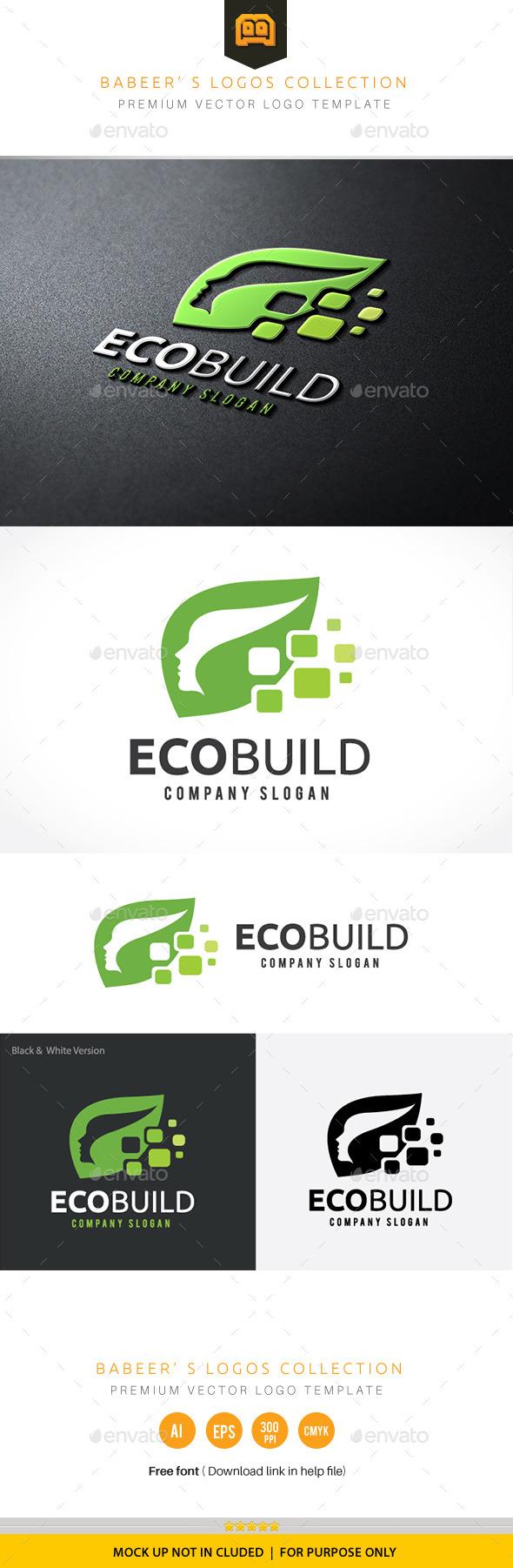 Eco Build - Nature Logo Templates