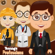 7 Kids Professions - GraphicRiver Item for Sale