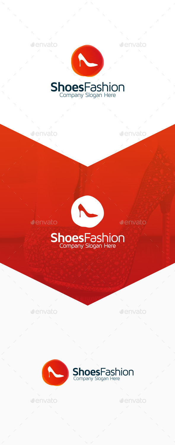 Shoes Fashion - Objects Logo Templates