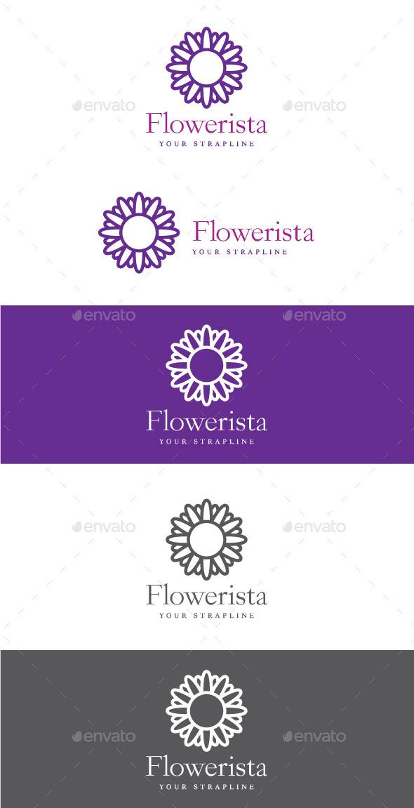 Flowerista Logo - Nature Logo Templates