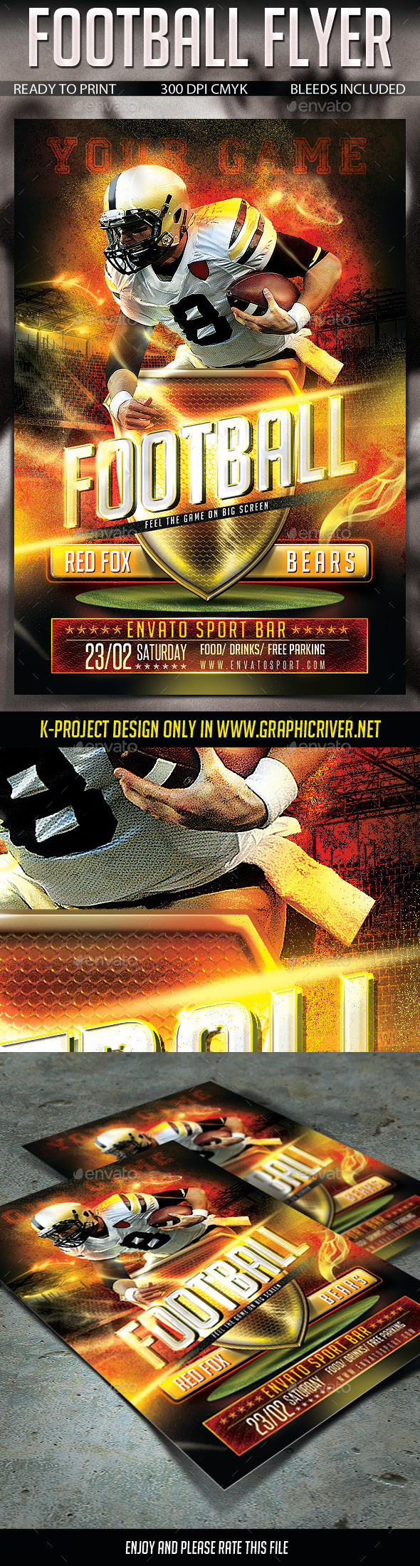 Football Sport Flyer - Sports Events