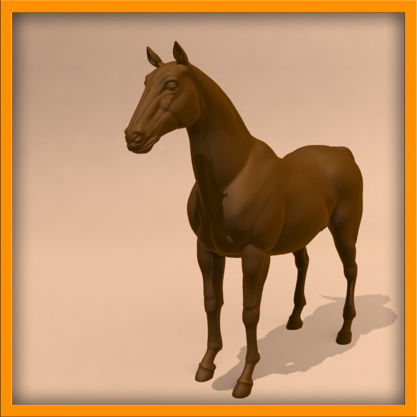 Horse ANIMATED - 3DOcean Item for Sale