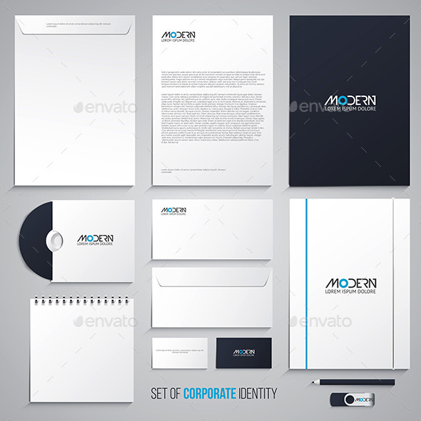 Corporate Identity Design - Business Conceptual