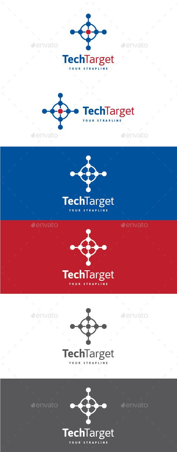 Tech Target Logo - Symbols Logo Templates