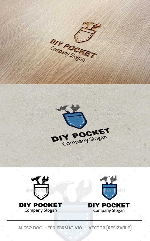 Diy Pocket Logo - Objects Logo Templates
