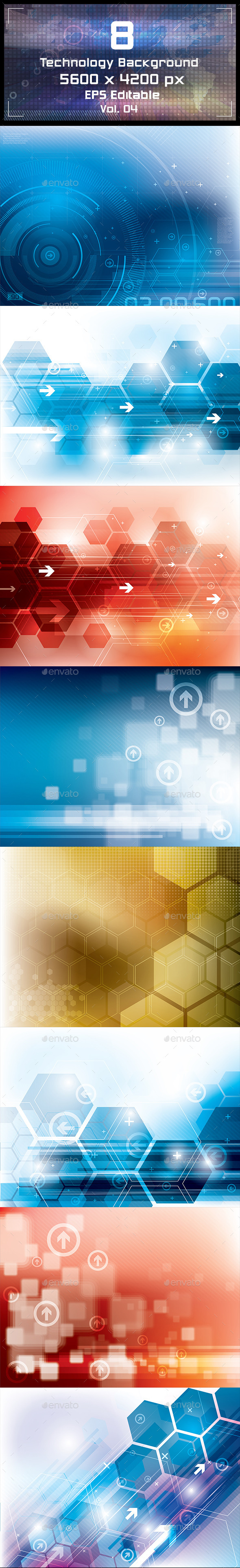 Technology Backgrounds - Technology Conceptual