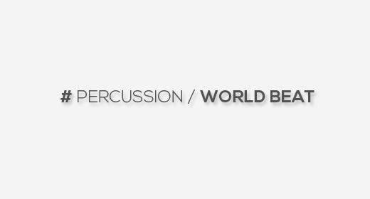 percussion, world beat