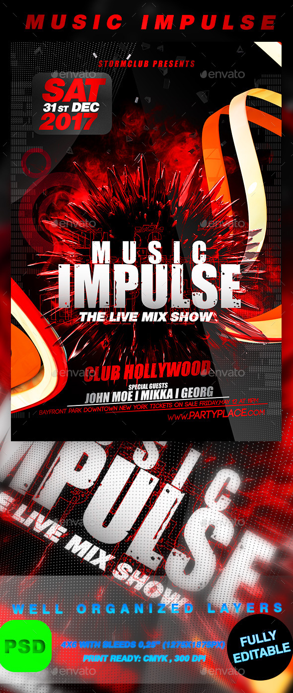 Music Impulse - Events Flyers