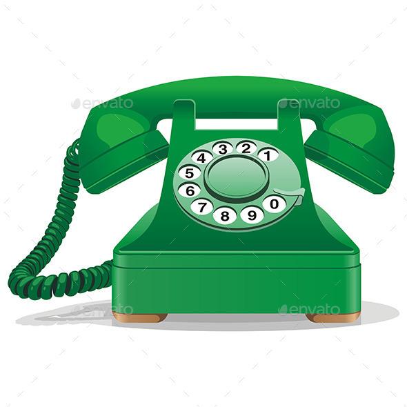 Telephone - Retro Technology