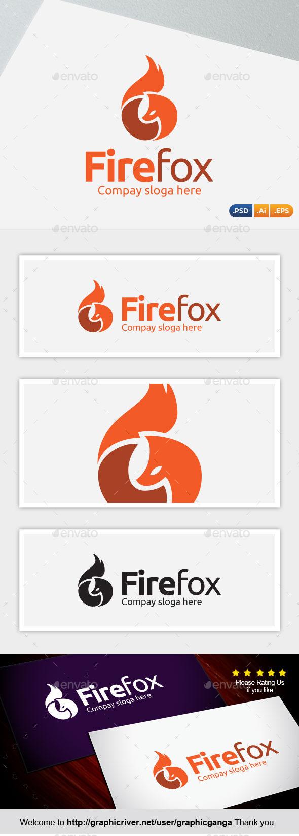 Firefox - Abstract Logo Templates